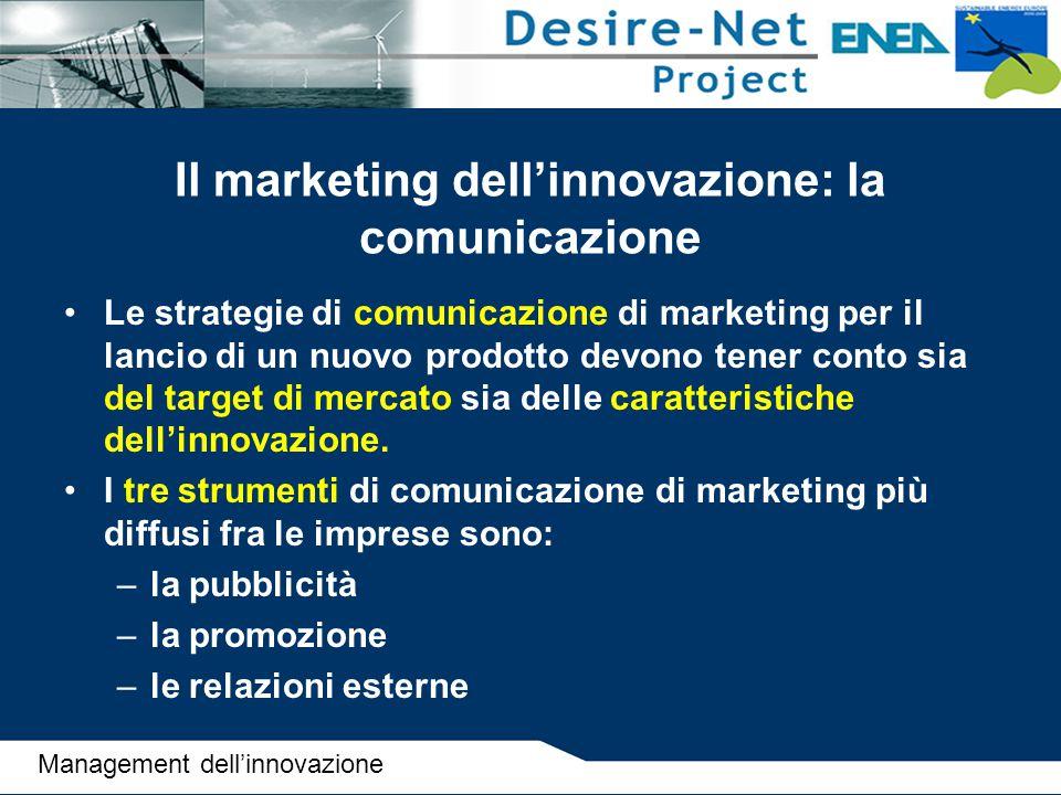 Il marketing dell'innovazione: la comunicazione