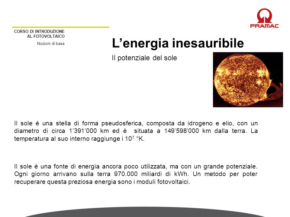 L'energia inesauribile
