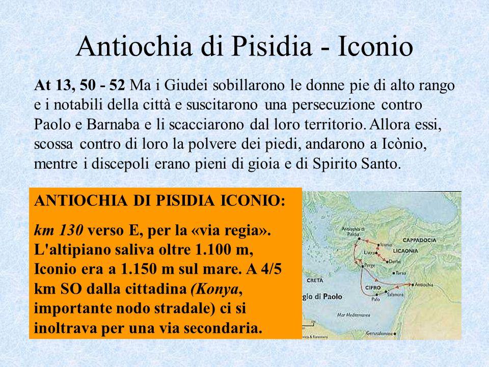 Antiochia di Pisidia - Iconio