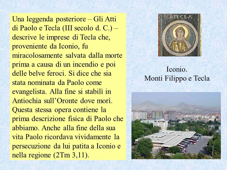 Iconio. Monti Filippo e Tecla