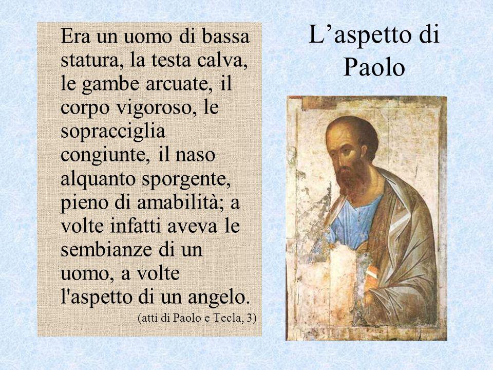 L'aspetto di Paolo
