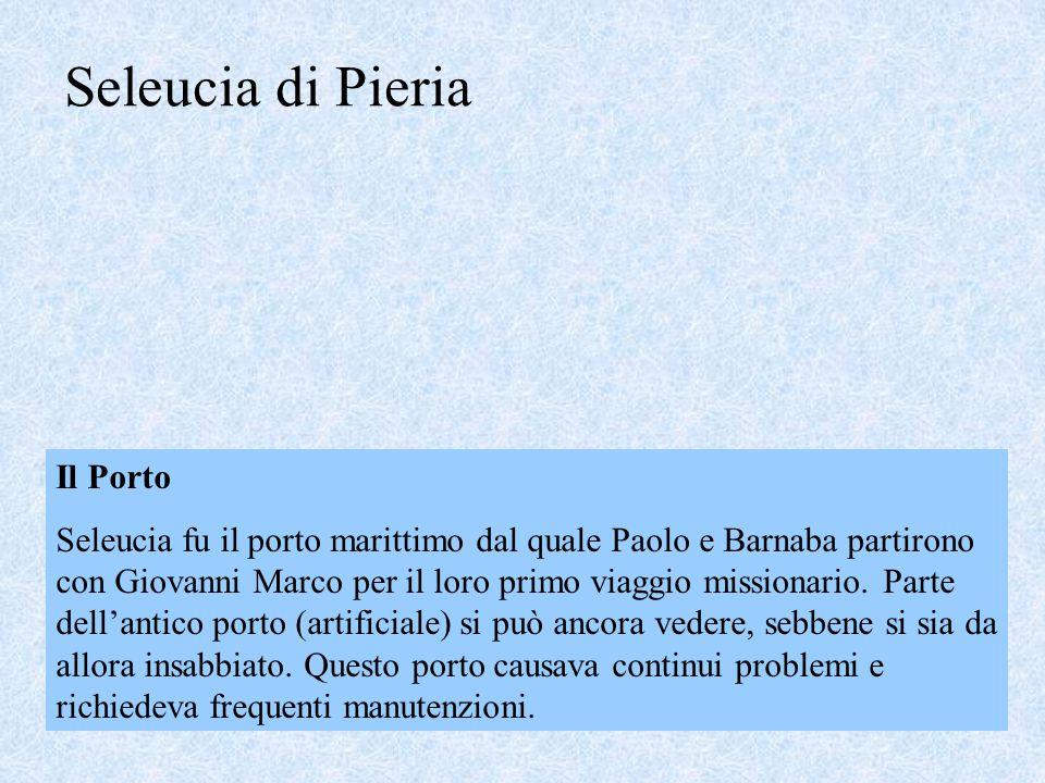 Seleucia di Pieria Il Porto