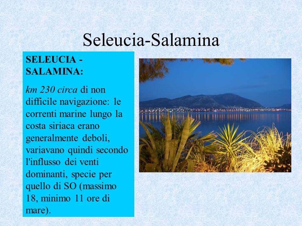 Seleucia-Salamina SELEUCIA - SALAMINA: