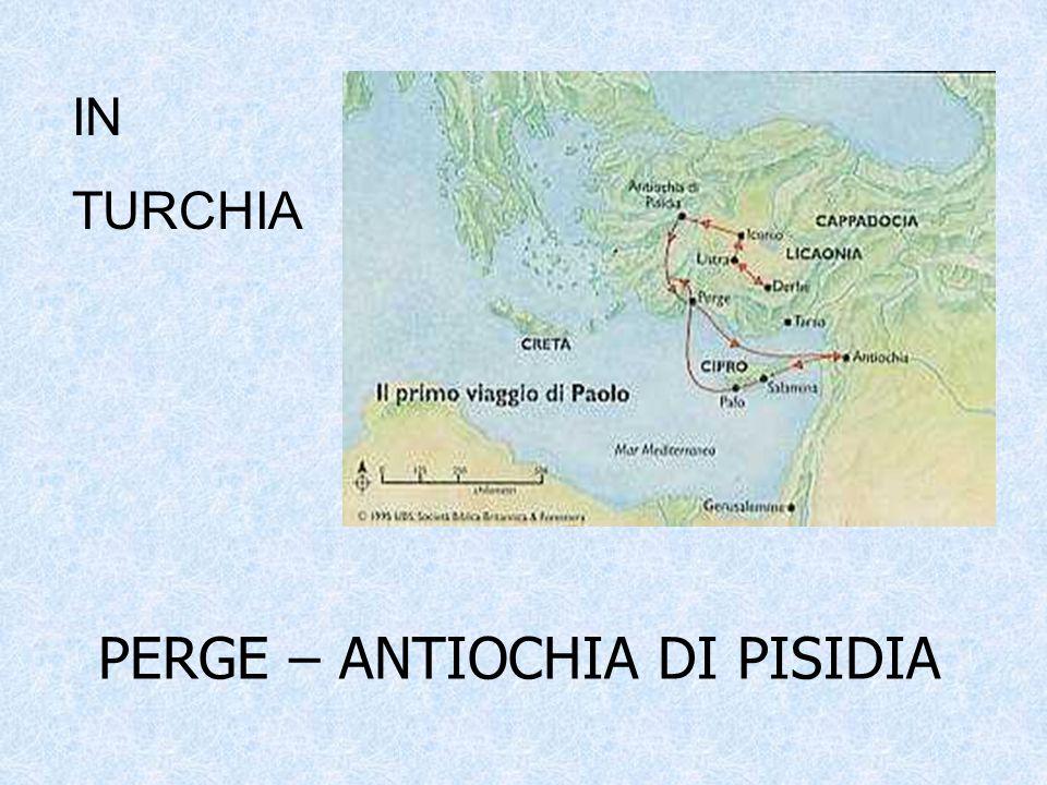 PERGE – ANTIOCHIA DI PISIDIA