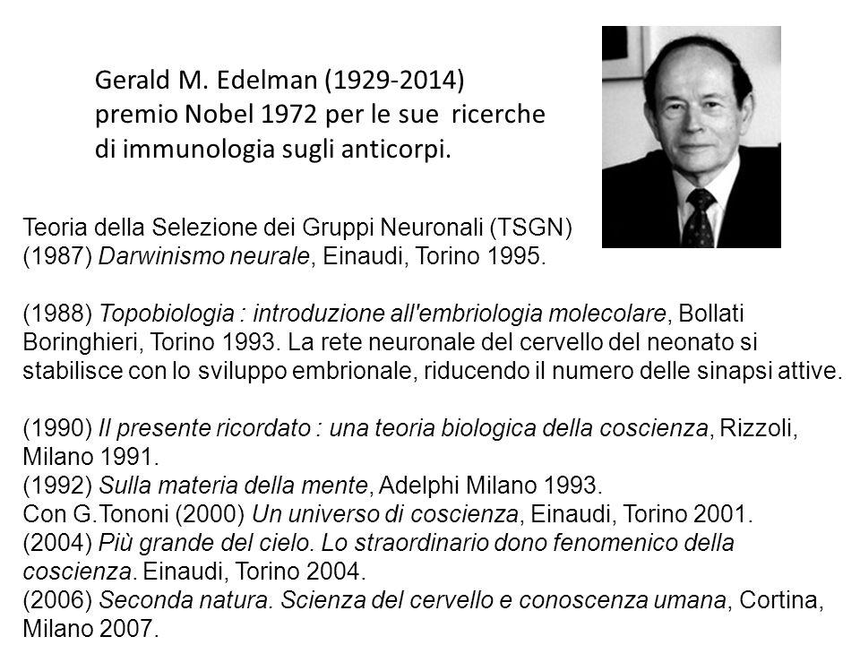 premio Nobel 1972 per le sue ricerche di immunologia sugli anticorpi.