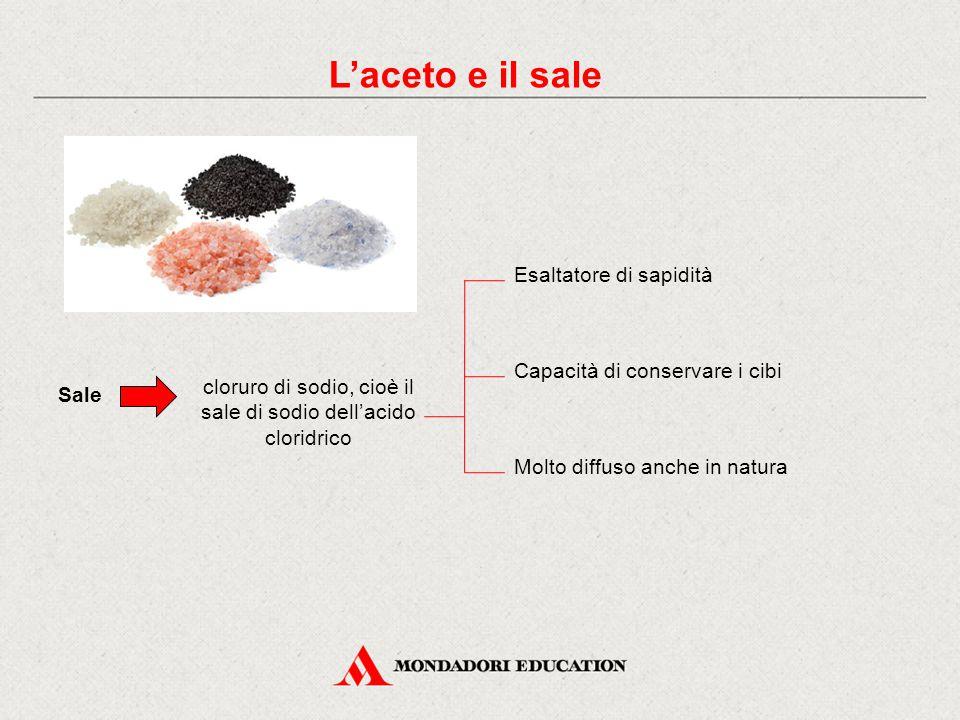 cloruro di sodio, cioè il sale di sodio dell'acido cloridrico