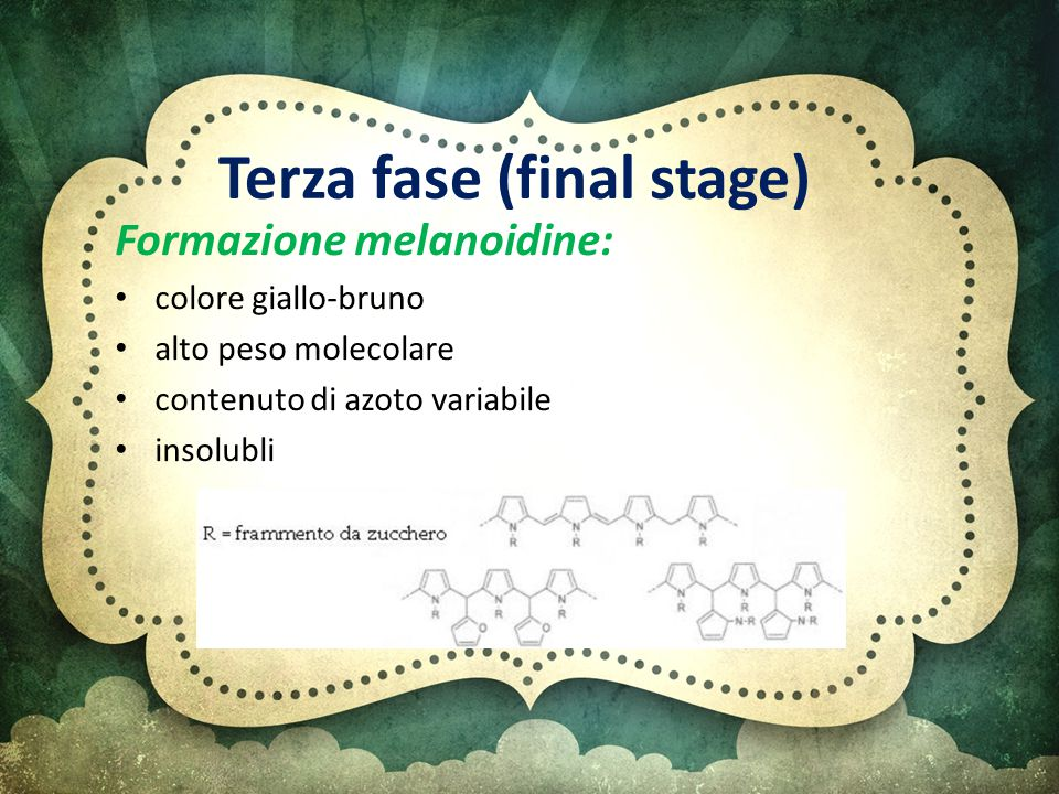 Terza fase (final stage)