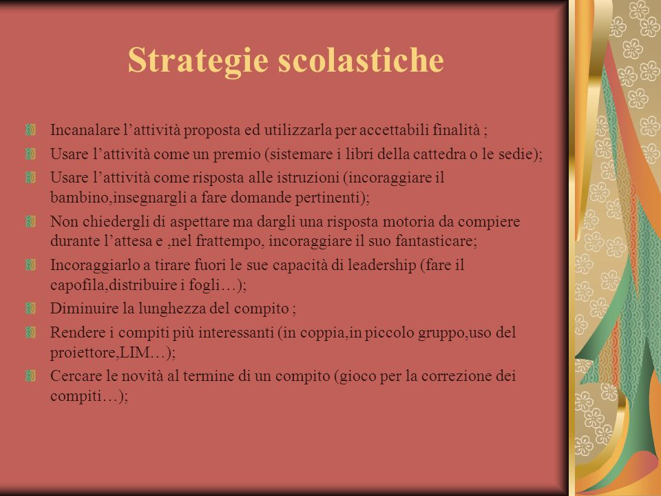 Strategie scolastiche