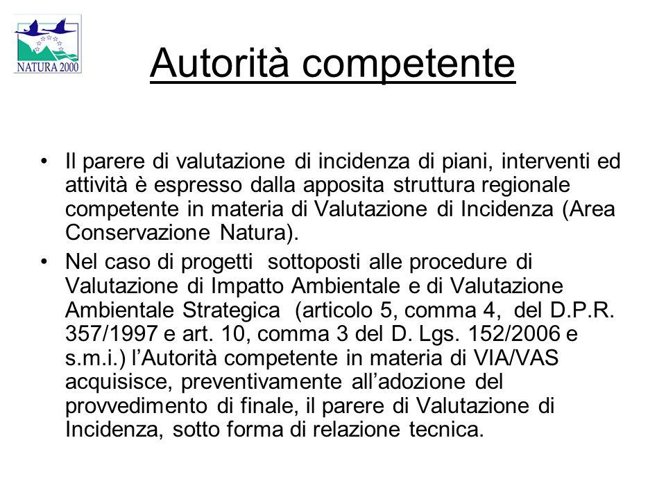 Autorità competente