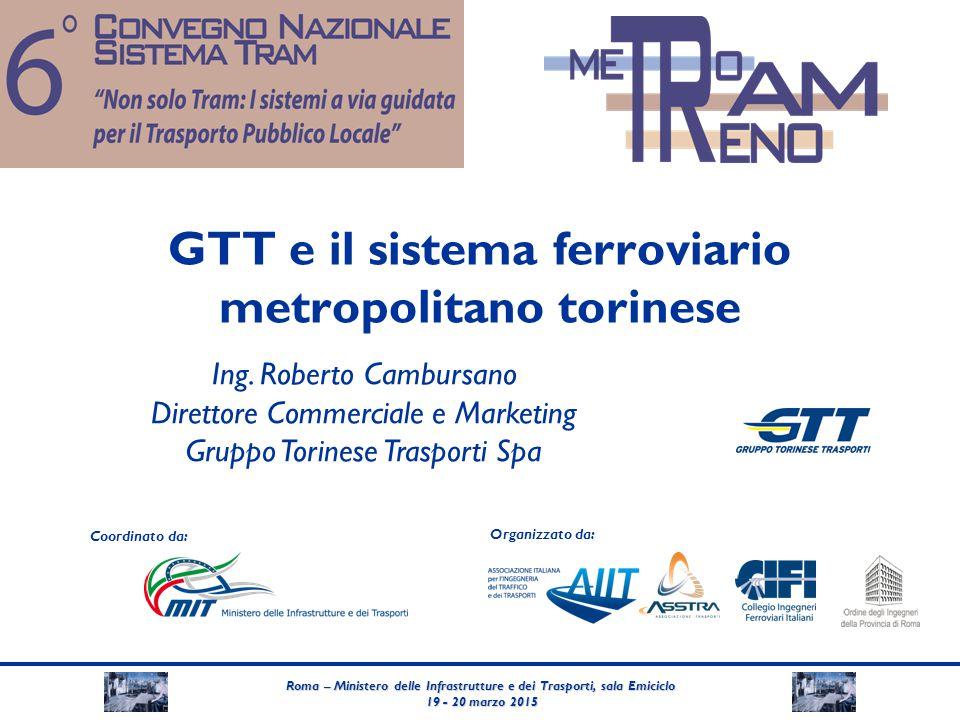 GTT e il sistema ferroviario metropolitano torinese