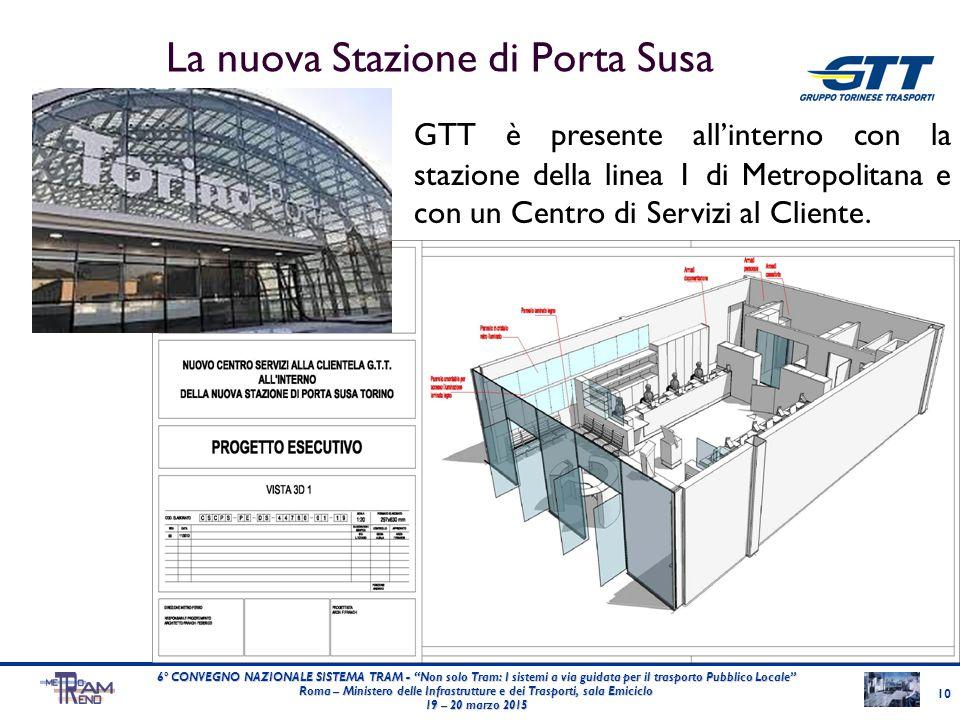 La nuova Stazione di Porta Susa