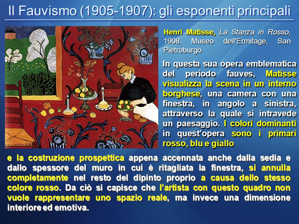 Il Fauvismo (1905-1907): gli esponenti principali