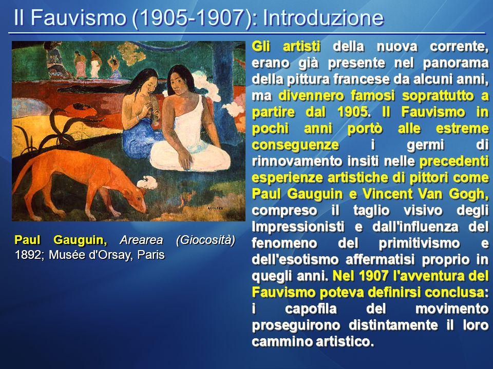 Il Fauvismo (1905-1907): Introduzione