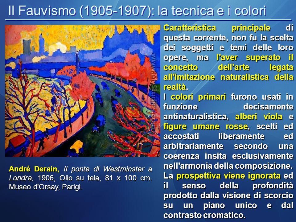 Il Fauvismo (1905-1907): la tecnica e i colori