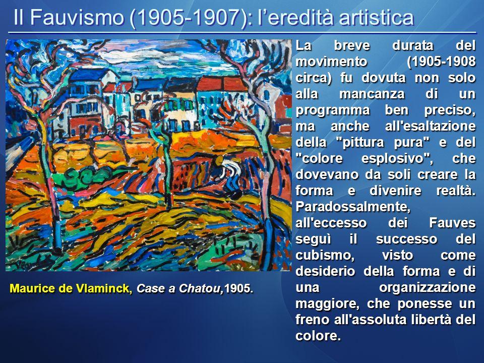 Il Fauvismo (1905-1907): l'eredità artistica