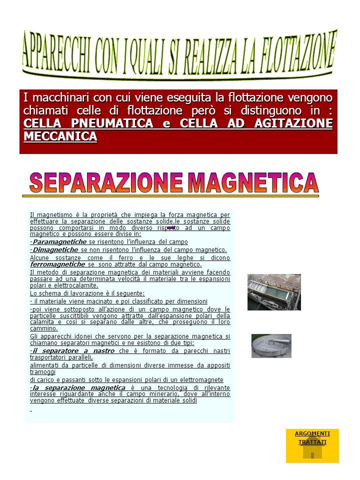 SEPARAZIONE MAGNETICA