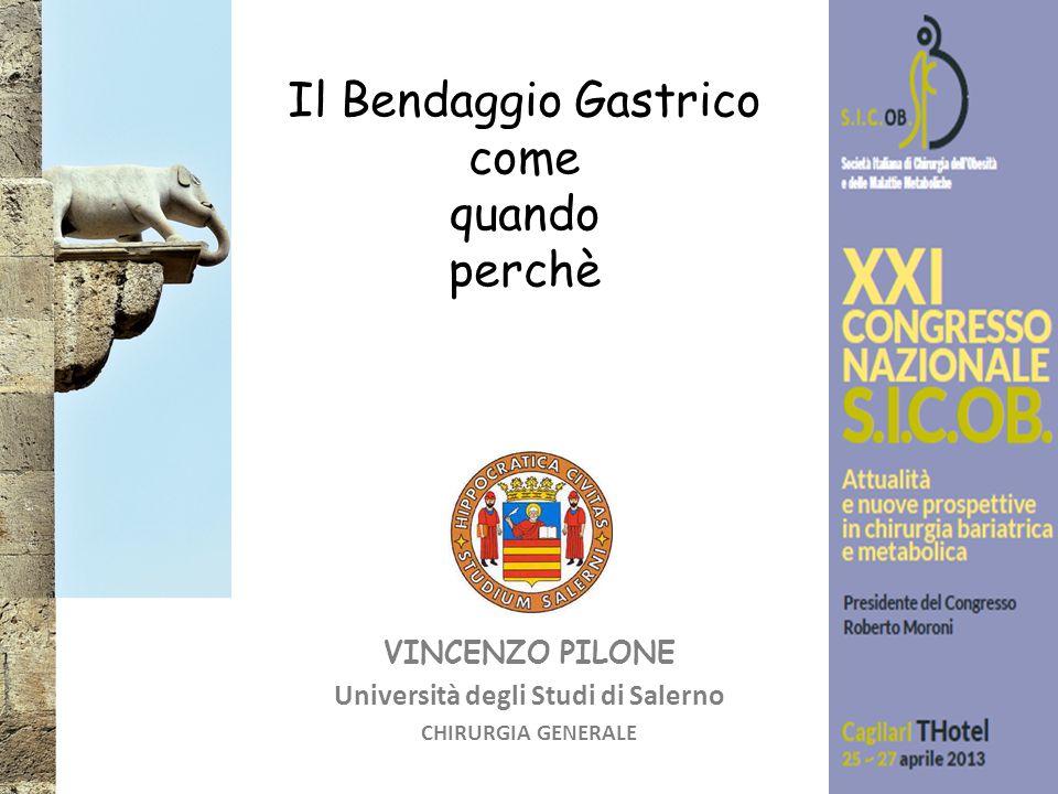 VINCENZO PILONE Università degli Studi di Salerno CHIRURGIA GENERALE