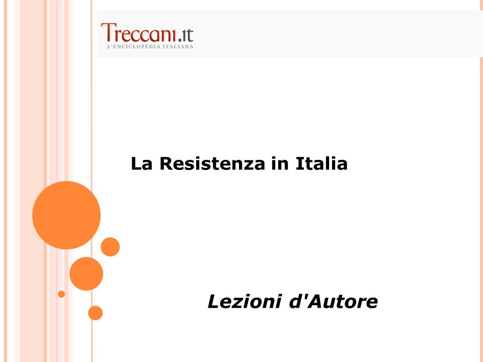 La Resistenza in Italia