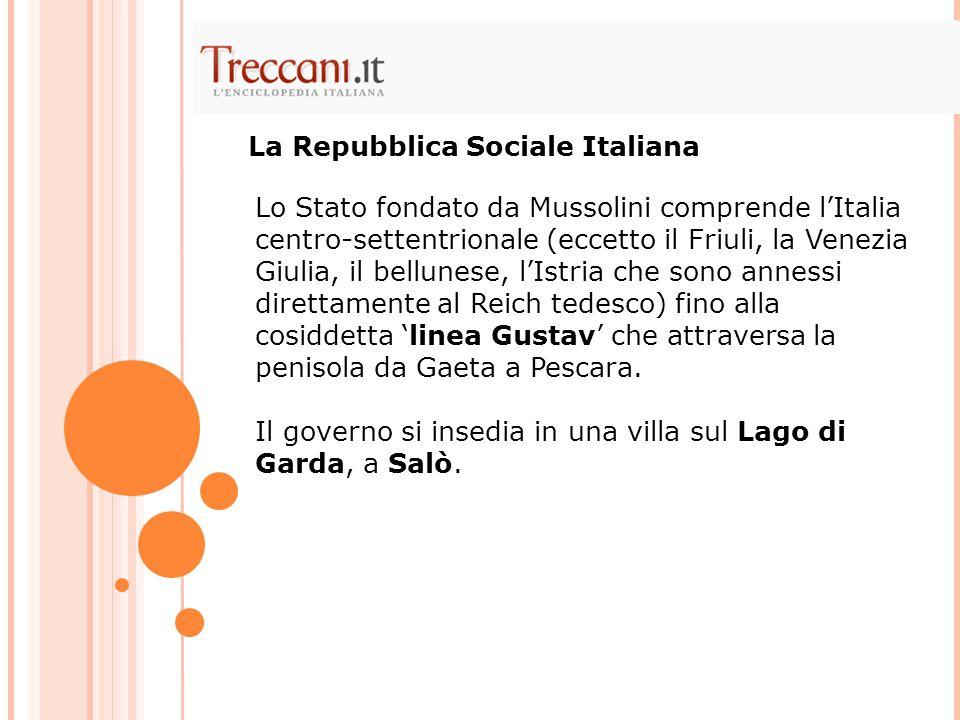La Repubblica Sociale Italiana