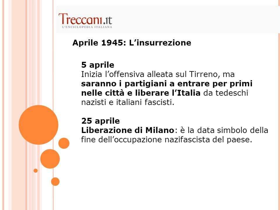 Aprile 1945: L'insurrezione