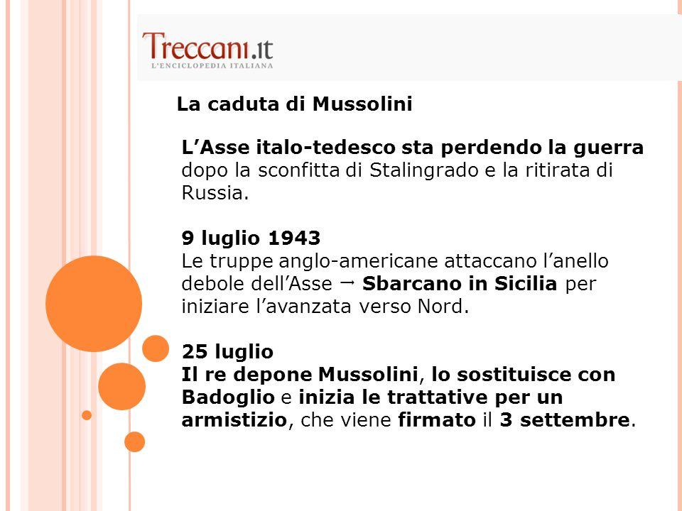 La caduta di Mussolini