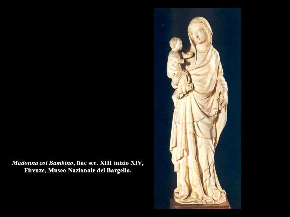 Madonna col Bambino, fine sec