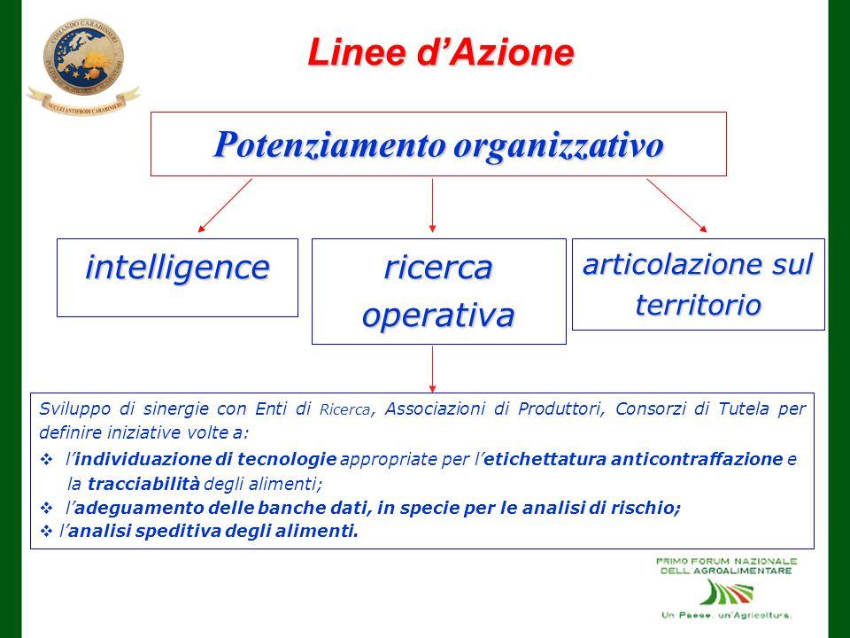 Potenziamento organizzativo