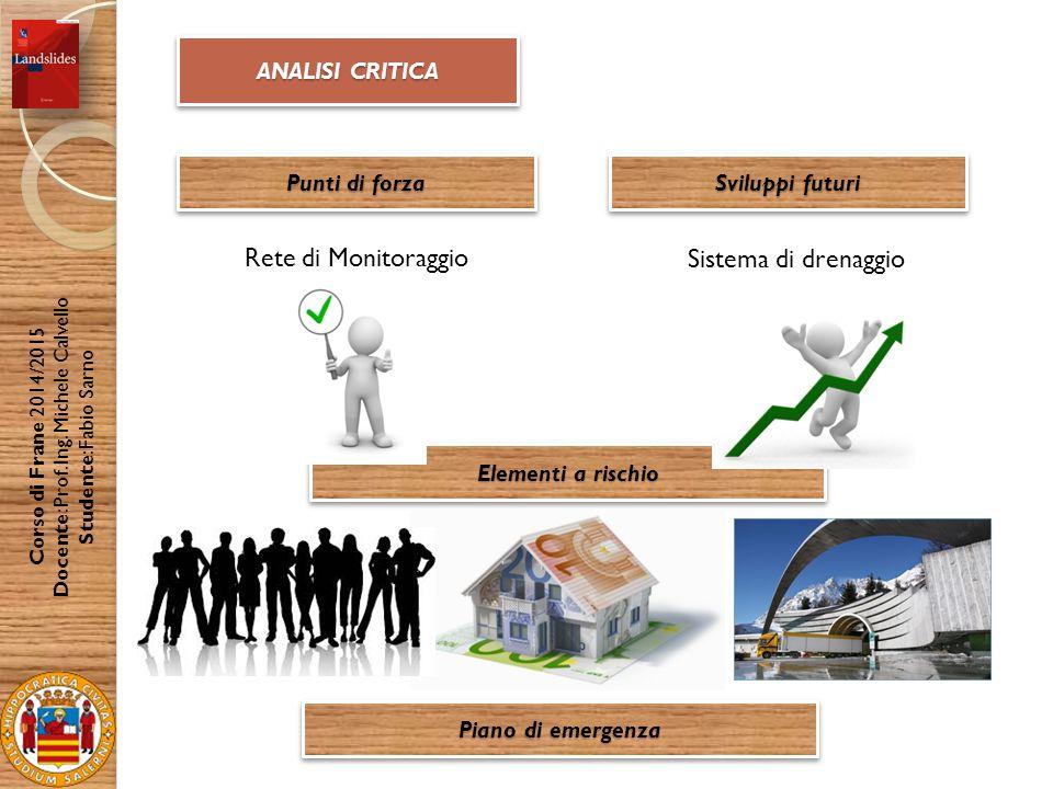 Docente: Prof. Ing. Michele Calvello