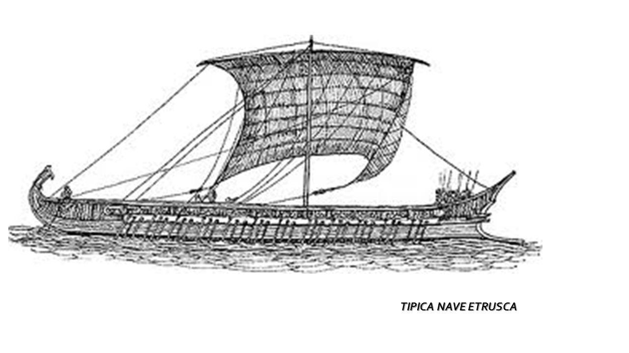 TIPICA NAVE ETRUSCA