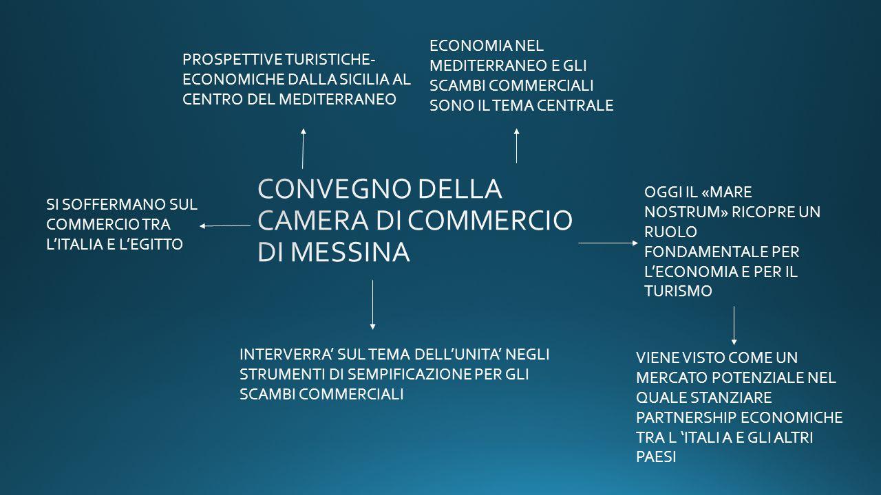 CONVEGNO DELLA CAMERA DI COMMERCIO DI MESSINA