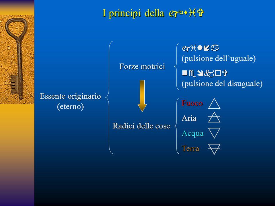 I principi della   (pulsione dell'uguale) 