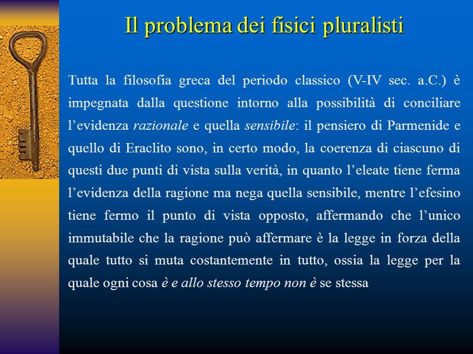 Il problema dei fisici pluralisti