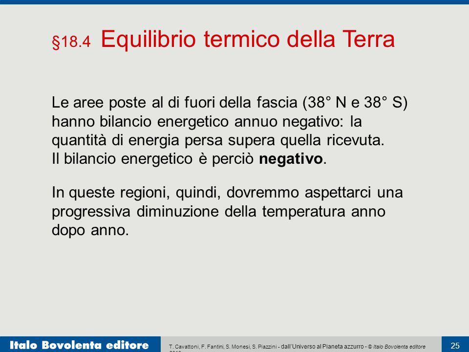 §18.4 Equilibrio termico della Terra