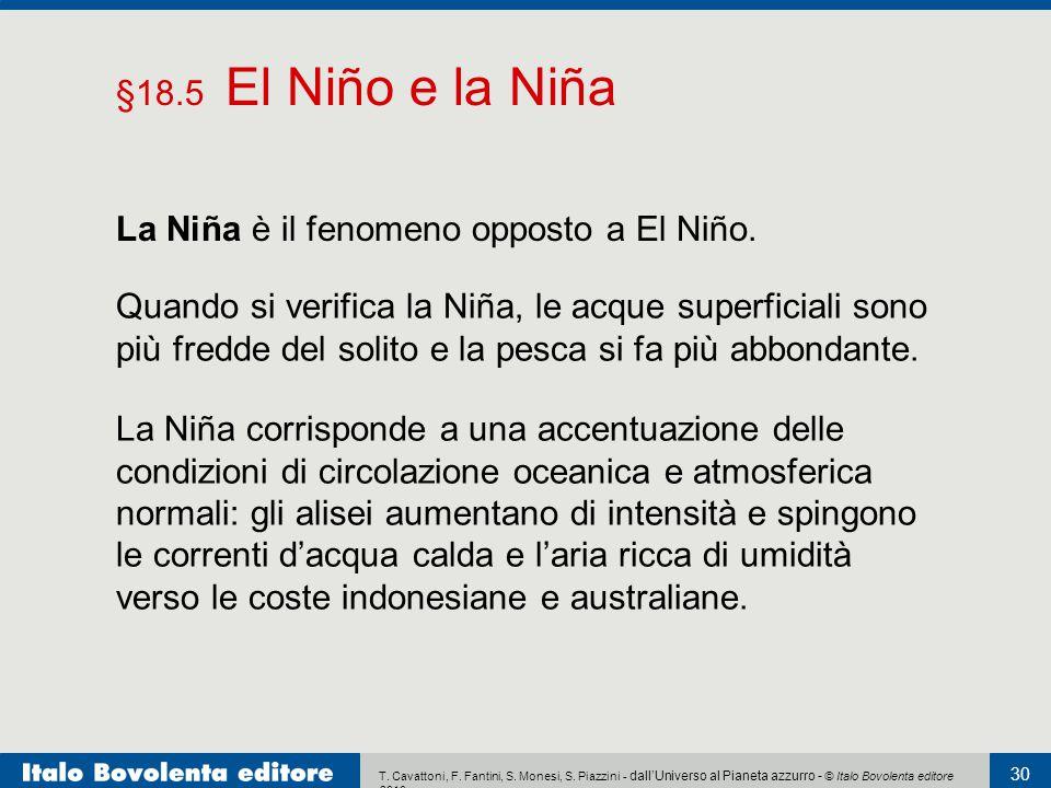 La Niña è il fenomeno opposto a El Niño.