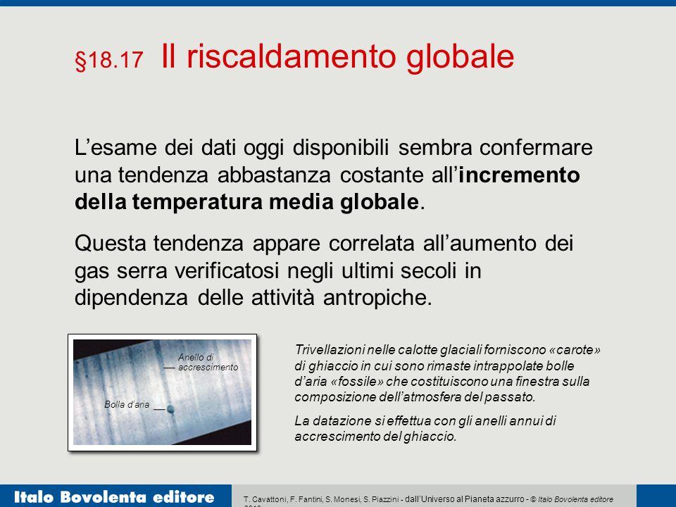 §18.17 Il riscaldamento globale