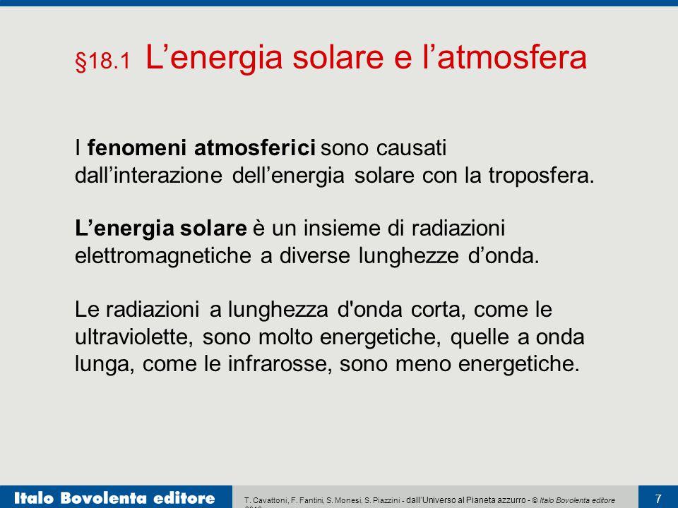 §18.1 L'energia solare e l'atmosfera