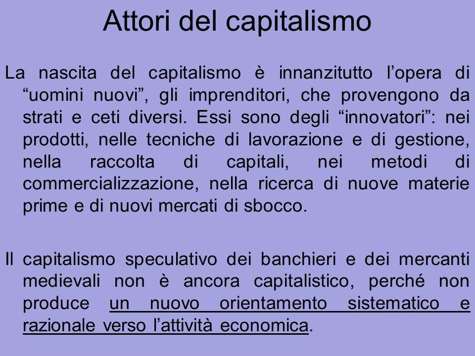 Attori del capitalismo