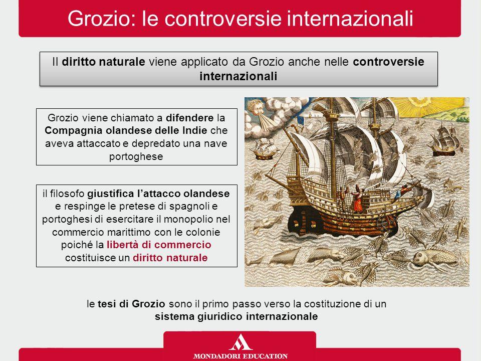 Grozio: le controversie internazionali