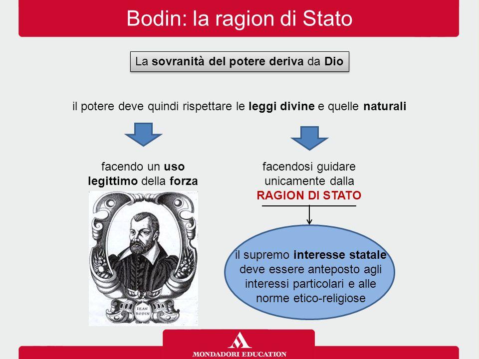 Bodin: la ragion di Stato
