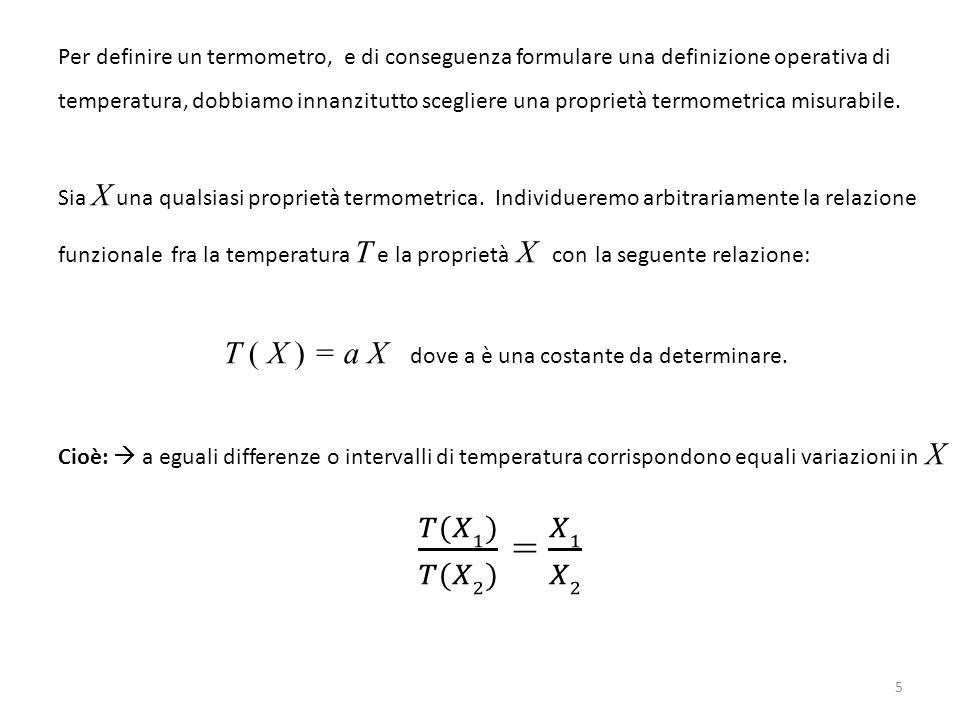 T ( X ) = a X dove a è una costante da determinare.