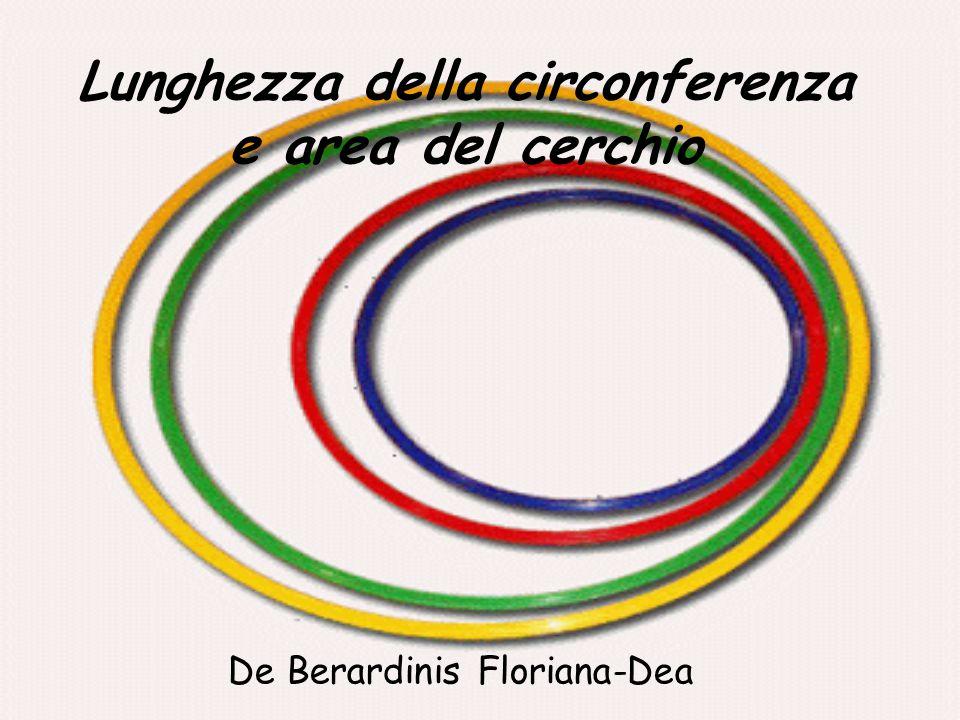 Lunghezza della circonferenza e area del cerchio