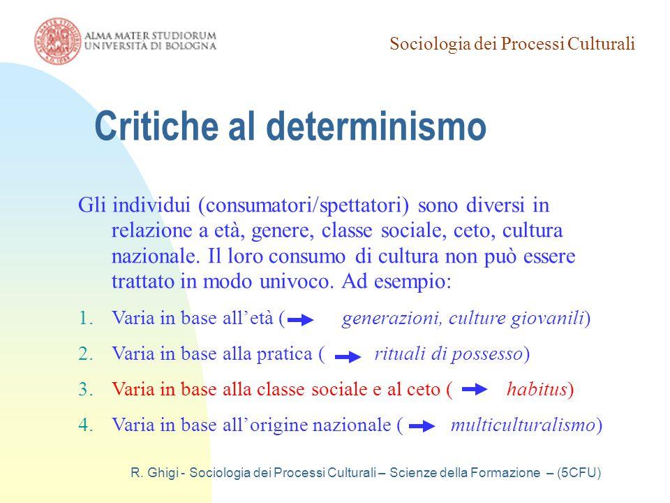Critiche al determinismo