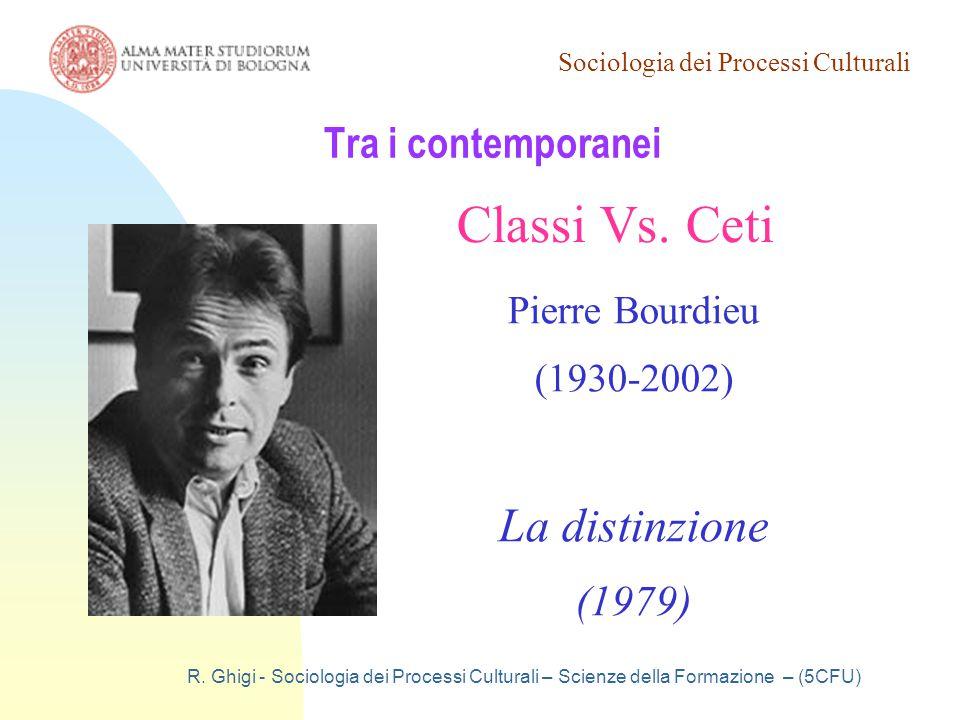 Classi Vs. Ceti La distinzione Tra i contemporanei (1979)