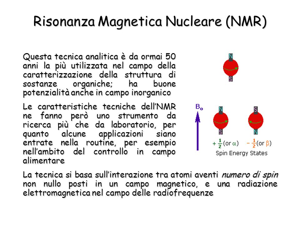 Risonanza Magnetica Nucleare (NMR)