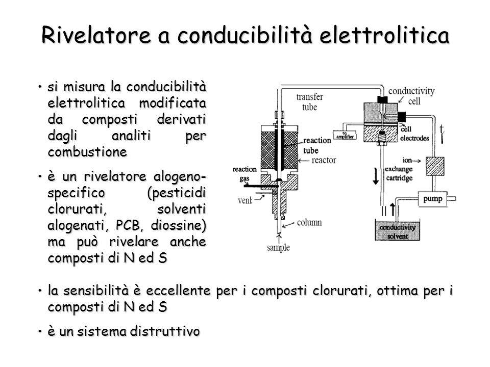Rivelatore a conducibilità elettrolitica