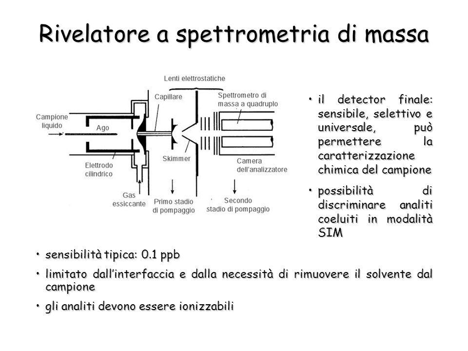 Rivelatore a spettrometria di massa