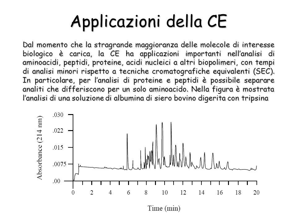 Applicazioni della CE