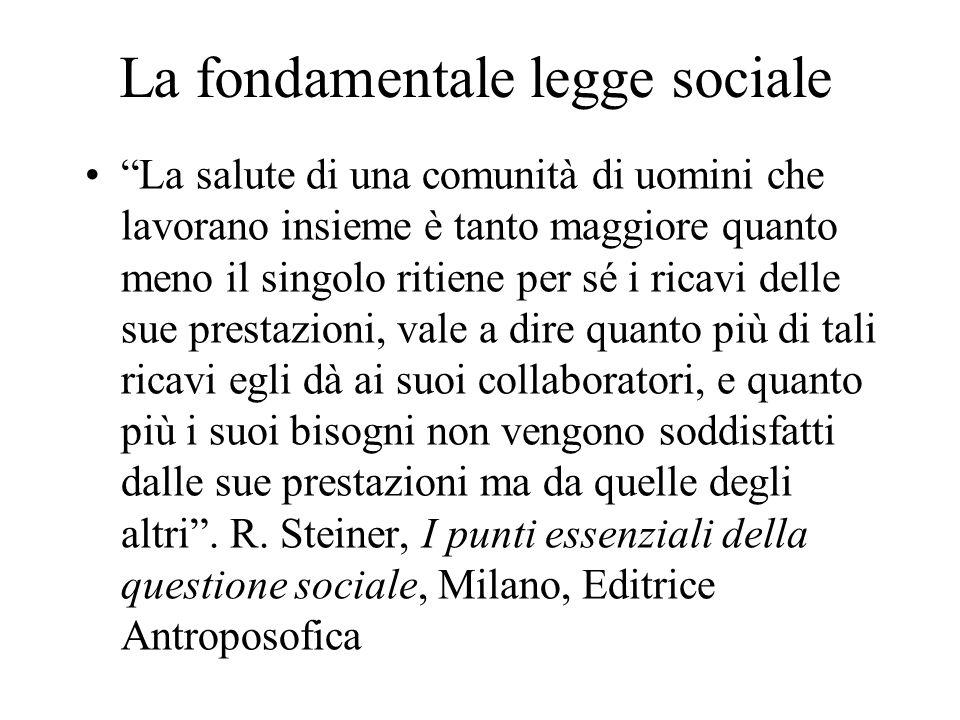 La fondamentale legge sociale