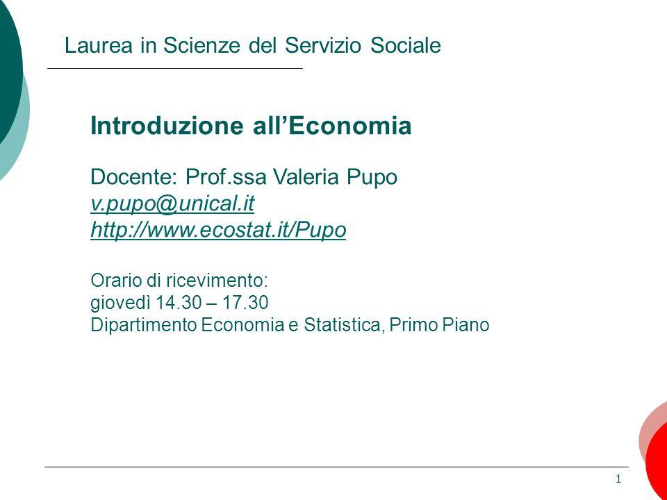 Laurea in Scienze del Servizio Sociale