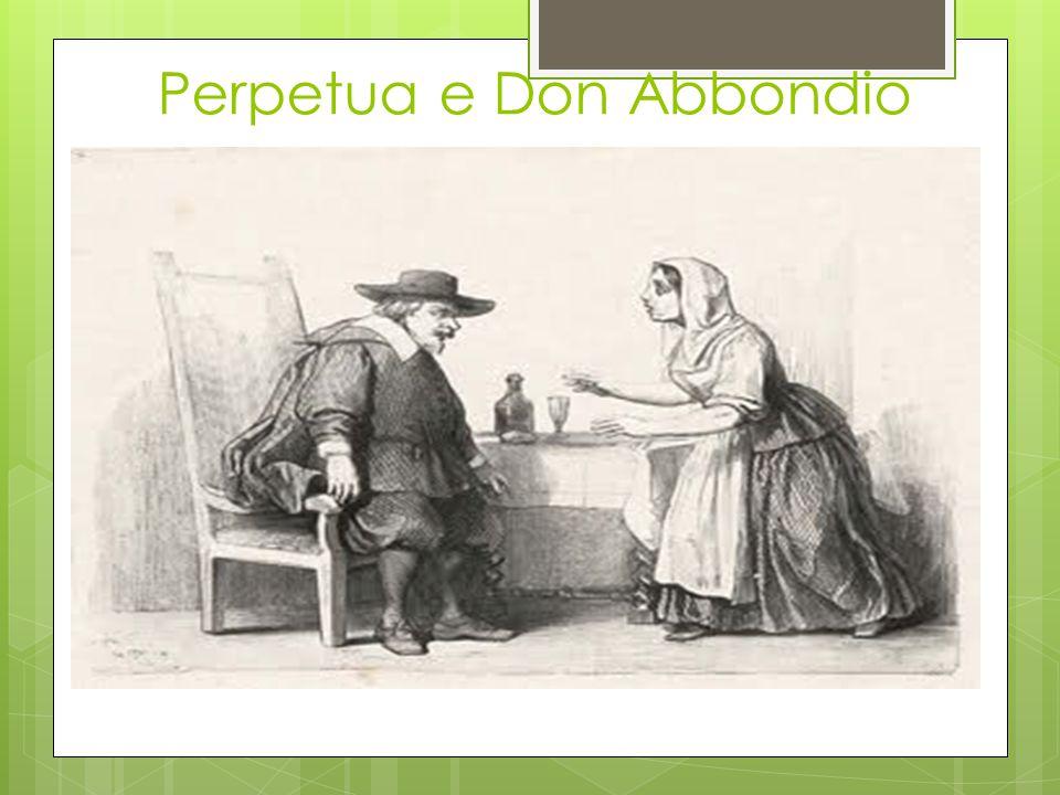 Perpetua e Don Abbondio